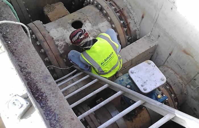 Grp sewage pipe lamination various dia