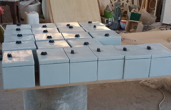 Grp electrical boxes and enclosures