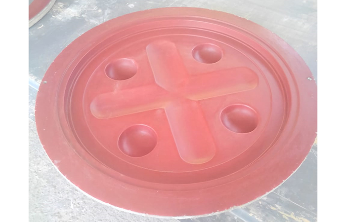 Grp seal plate