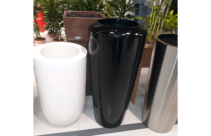 Grp flower pots
